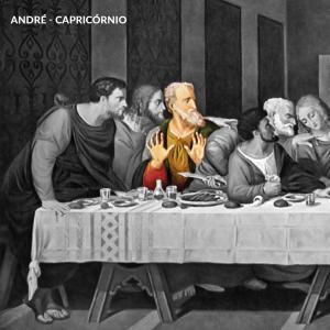 leonardo da vinci apostolos andre capricornio