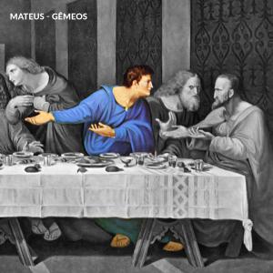 leonardo da vinci apostolos mateus gemeos