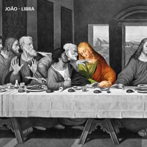 leonardo da vinci apostolos joao libra