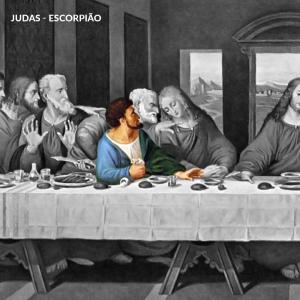 leonardo da vinci apostolos judas iscariotes escorpiao