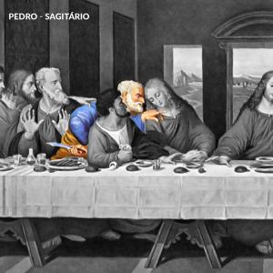 leonardo da vinci apostolos pedro sagitario