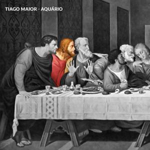 leonardo da vinci apostolos tiago aquario